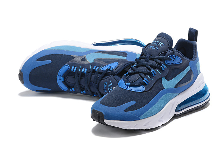 release date: f3424 3a5a2 Nike Air Max 270 React Blue Void AO4971-400 Men's Casual Shoes Sneakers  AO4971-400A
