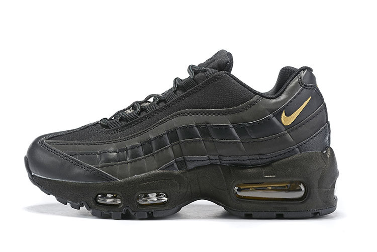 Nike Air Max 95 Premium SE blackmetallic gold 924478 003 Kids Running Shoes NIKE ST006674