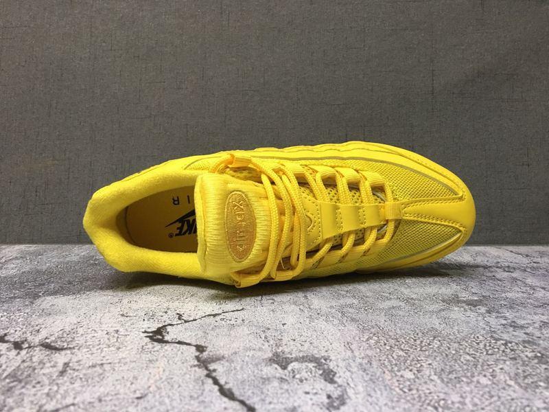 timeless design 0217e 8619a Nike Air Max 95 TT Yellow Women's Casual Shoes NIKE-ST006690