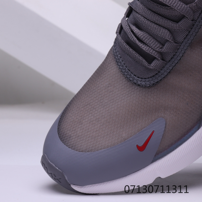 competitive price 26ed4 ba3cf Nike Air Max 270 White Grey Mens Womens Casual Shoes NIKE-ST006681