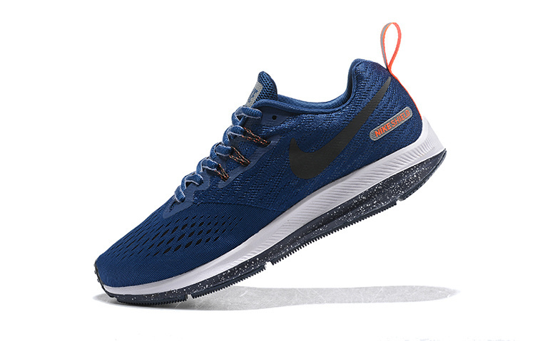 new style 8a369 784ef Nike Zoom Winflo 4 Navy Blue Orange White 921704 004 Men's Casual Shoes  Sneakers NIKE-ST006801