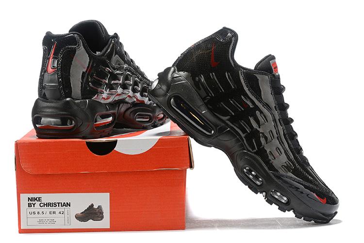 Nike Wmns Air Max 95 Essential Triple Black Women's Running Shoes NIKE ST000990