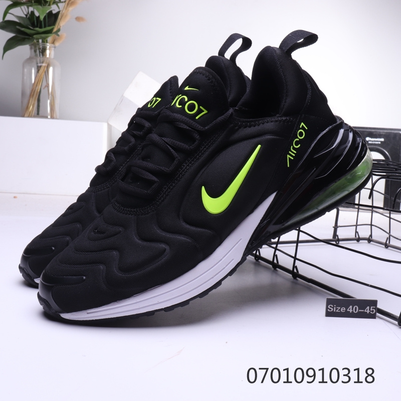 Nike Air Max 270720 White Black Green Mens Casual Shoes NIKE ST006576