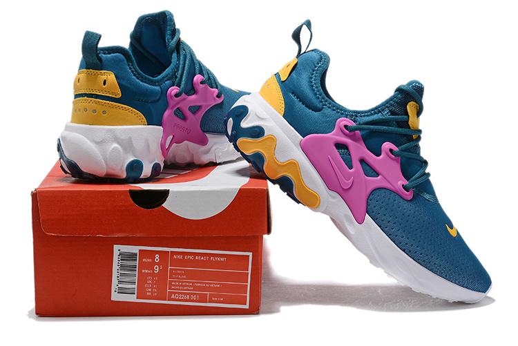 uk availability a0cc2 156a3 Nike Epic React Presto Hyper Blue Purple Men's Women's Running Shoes  NIKE-ST006823
