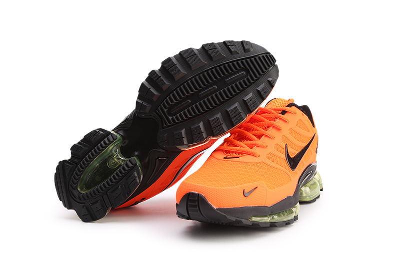 new product 4e836 9ab3a Nike Air Max Lead The Trend TN Kpu Orange Black Males Running Shoes  NIKE-ST006586