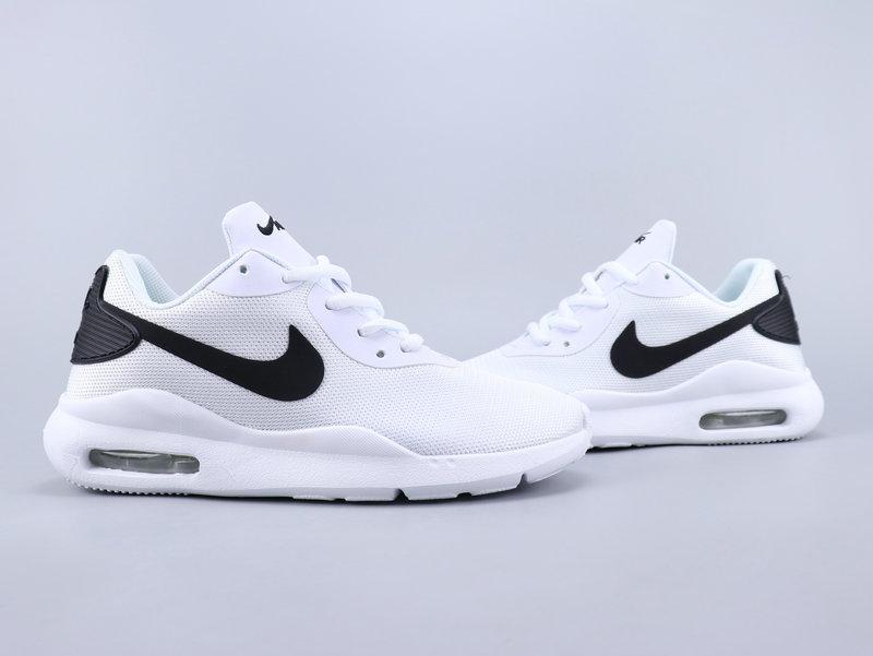 Nike Air Max Oketo White Black Running Shoes Wmns NIKE ST007360
