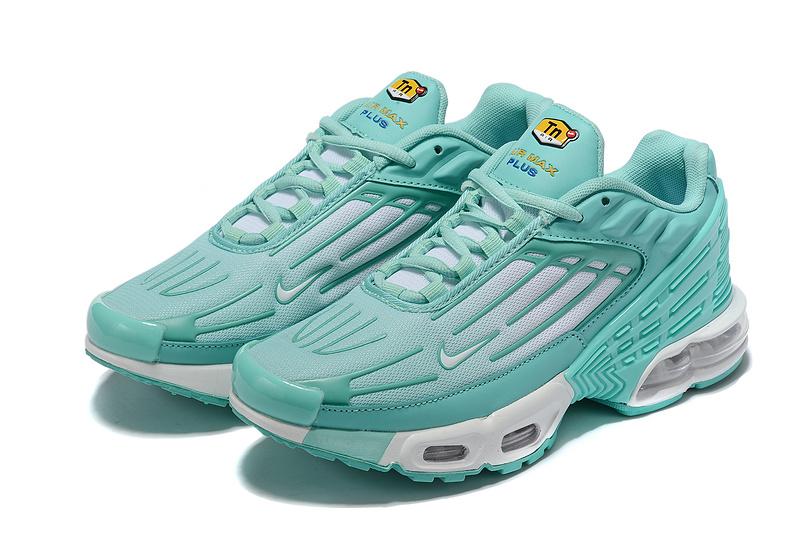 big sale 64e79 0b070 Womens Nike Tuned Air Max Plus Tn Mint Green White Running Shoes  NIKE-ST007011