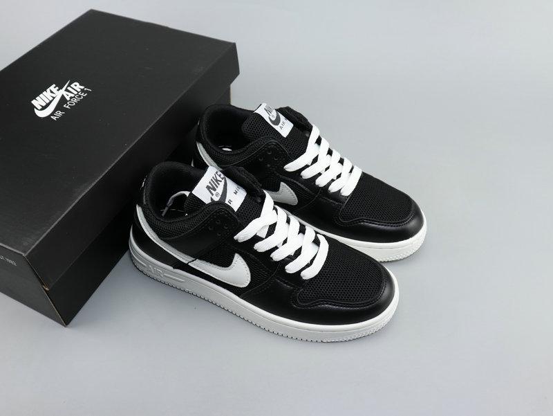 Nike Air Force 1'07 LV8 Utility Black White Shoes Wmns NIKE ST007114