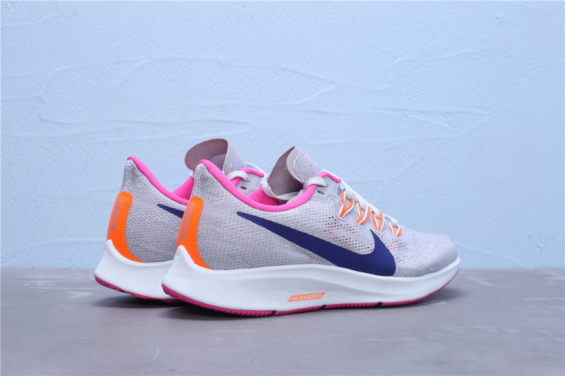 Nike Air Zoom Pegasus 33 women's Running Shoes Sky blue Orange #SIM002413