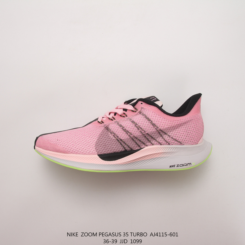 best authentic 8e82a 6927d Nike Zoom Pegasus Turbo Pink Black Running Shoes 35 AJ4115-601 Women's  AJ4115-601