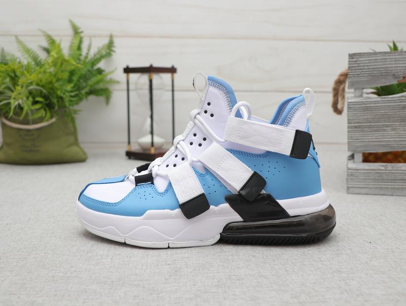 Nike Air Edge 270 Blue Black White Men's Basketball shoes NIKE ST007776