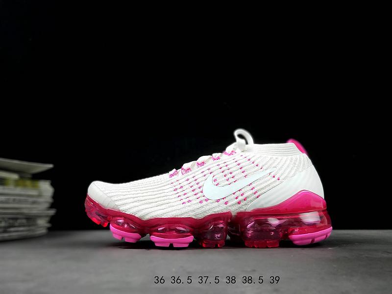official photos d86de 27c2e Nike Air VaporMax Flyknit W 3. 0 Pink White Running Shoes Women's  NIKE-ST007688