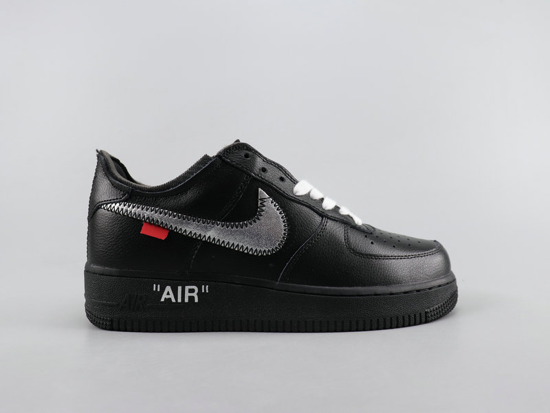 off white x nike air force 1 black